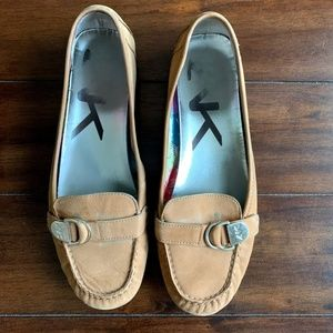 Ann Klein Leather Loafers